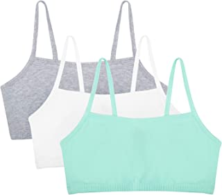 Fruit of the Loom Women's Cotton Pullover Sport Bra (Pack of 3)