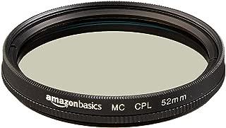 Amazonベーシック カメラ用レンズフィルター 円偏光フィルター 52mm CF02-NMC16-52