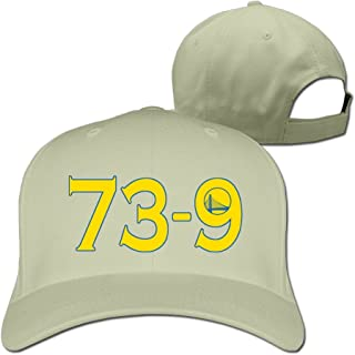 Adjustable Baseball Cap - Warriors 73-9 Best Record Ever