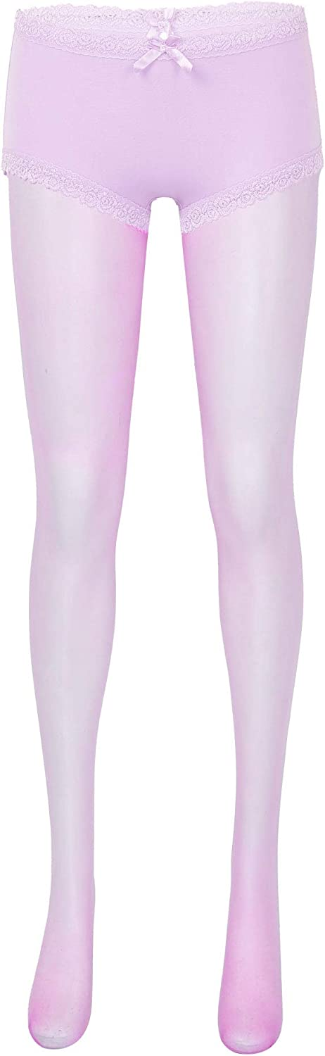 Yanarno Womens Opaque Microfibre Tights Mid Waist Tights Pantyhose Sheer Stretchy Stockings