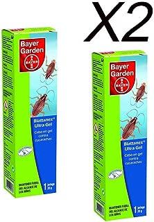 Bayer Garden Blattanex Ultra Gel - Cebo en gel contra cucarachas para interiores, formato de 20g Pack 2 uds