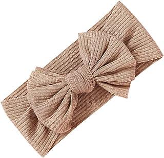 Lazzboy Baby Stirnbänder Mädchen Stretch Gedruckt Turban Stirnband Kopf Verpackung Haarband Girl Infant Feste Haarbänder Und Schleifen Kinderhaarzubehör