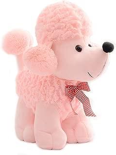 Smilesky Plush Poodle Puppy Dog Stuffed Animal Toys Kids Gifts Pink 8