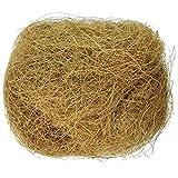 gilivableskr Natürliche Kokosnussfaser Vogelnest Bettwäsche 100g für kleine Vögel und Tiere...