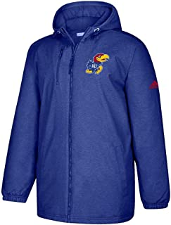 Kansas Jayhawks NCAA Men's Primary Logo Blue Game Built Full Zip Heavyweight Jacket