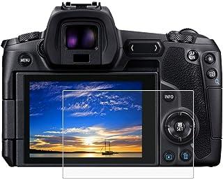 BYbrutek Protector de Pantalla de Vidrio Templado para Canon EOS R 03 mm Ultratransparente Lámina de protección LCD con Dureza 9H Antiarañazos sin Burbujas Antihuellas (EOS R)