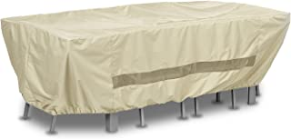 AnyWeather AWPC05 Patio Table with Chairs Outdoor Cover