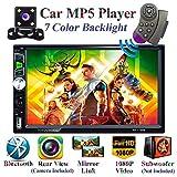 Honboom Autoradio Bluetooth 2 DIN Stéréo de Voiture écran Tactile HD de 7 Pouces avec Fonctions d'appel Mains Libres...