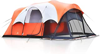 Camping World 6 Person Tent for Camping Dome Tent with Screen Room Lightweight and Portable with Carry Bag