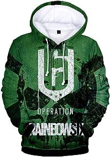 Halloween Cosplay Hoodie 3D Pattern Pullover Sweatsuit Novelty Hooded 3D Jacket
