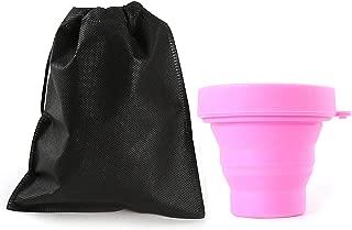 EudoER 1 Pieza Plegable Esterilizador De Copa Menstrual Caja De Almacenamiento Esterilizadora con Tapa
