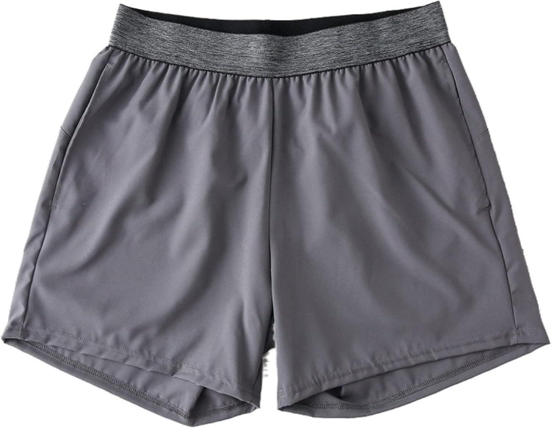 Katenyl Men's Shorts Fashion Loose Elastic Waist Comfortable Versatile Thin Basketball