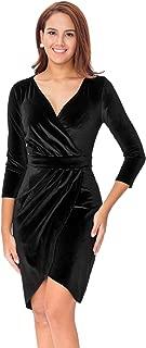 Best velvet dress with long sleeves Reviews
