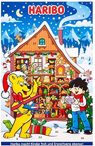 Calendario dell'avvento di Haribo, dolci natalizi, 300g