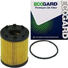 ECOGARD X6162 Cartridge Engine Oil Filter for Conventional Oil - Premium Replacement Fits Fiat 500, 500L, 124 Spider, 500X / Dodge Dart / Jeep Renegade