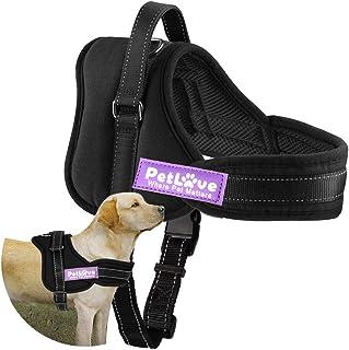 PetLove Dog Harness, Soft Leash Padded No Pull Dog Harness Black, Small