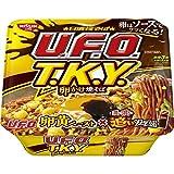 日清焼そば U.F.O.T.K.Y. 卵かけ焼そば 濃い濃い追いソース付 163g ×12個
