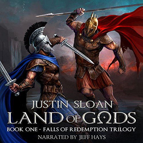 Land of Gods audiobook cover art