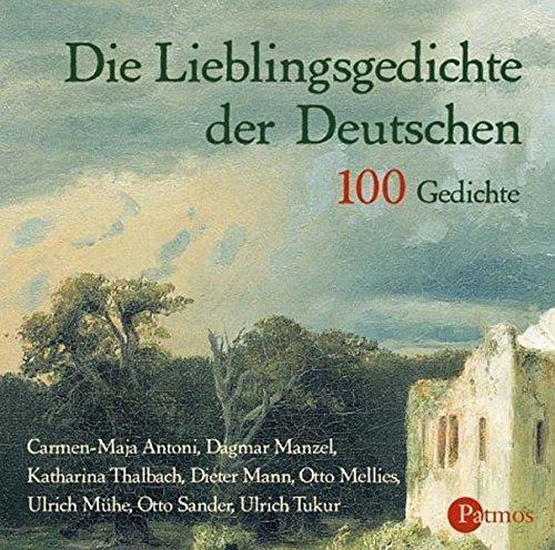Die Lieblingsgedichte der Deutschen. 100 Gedichte (2 CDs)