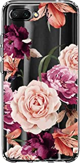 for Huawei Honor View 10 Case Flower Pattern Cover Soft Back Shell Slim Fit Case for Huawei Honor 10