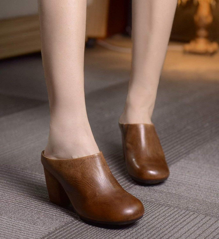 Mode Design Closed Toe Komfortable Schuhe Made Hand Retro