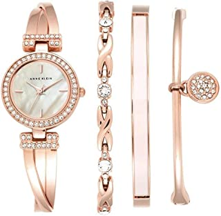 Anne Klein AK-2238RGST Rose Gold-Tone Alloy Ladies Watch with Mother of Pearl