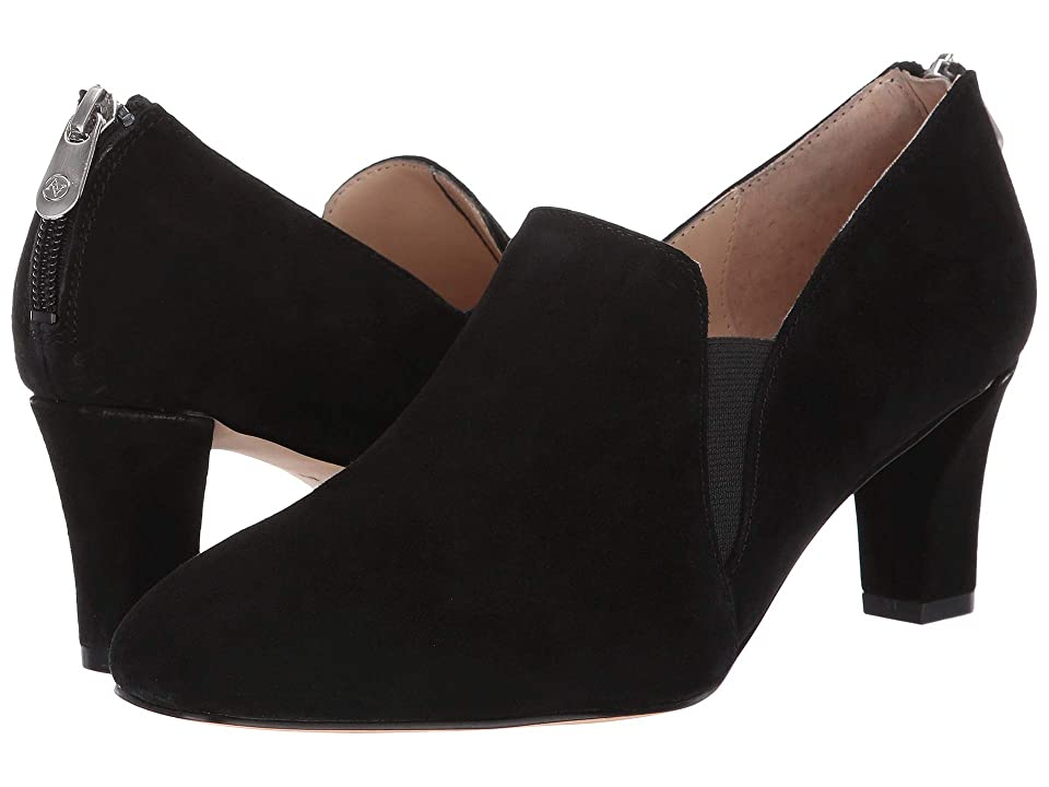 Adrienne Vittadini Lave (Black Kid Suede) Women's Shoes