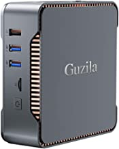 GUZILA Mini PC,Intel Celeron J4125 Processor(up to 2.7GHz) Windows 10 Pro Mini Desktop Computer with 8GB DDR4/120GB ROM,Su...