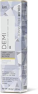 Ion Intensive Shine 9G Very Light Golden Blonde Demi Permanent Creme 9G Very Light Golden Blonde