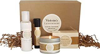 Victoria's Lavender Natural Body Products Gift Set Vanilla Lavender | MADE IN USA