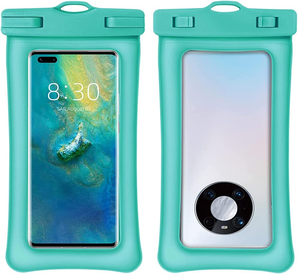 Mobile Waterproof Bag, Mobile Phone Dry Bag Protective Cover, Transparent and Touchable, Suitable for Swimming Beach Water Park(2211.51cm)