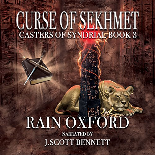 Curse of Sekhmet audiobook cover art