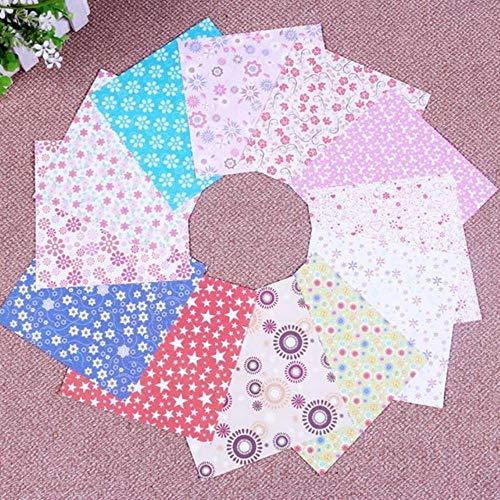 Vierkante origami papier dubbele kanten kersenbloesem vouwen kleurrijke sakura papieren kinderen handgemaakte diy scrapbooking ambachtelijke decor, stippen