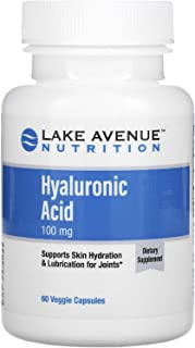 Lake Avenue Nutrition Hyaluronic Acid, 100 mg, 60 Veggie Capsules