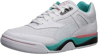 PUMA Men's Palace Guard Sneaker, White-Geranium, 8.5 M US
