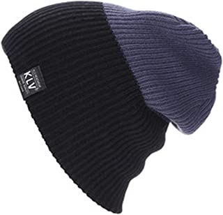 ANDERDM 2018 Autumn Winter Men Women Skiing Caps Unisex Knitting Beanies Warm Winter Knitting Wool Hats