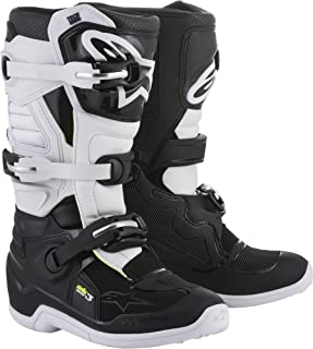 Alpinestars Womens Stella Tech 3 Boots-Black/White-8