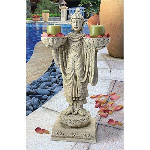 Design Toscano JQ4731 Avalokitesvara Buddha Garden Statue,Antique Stone