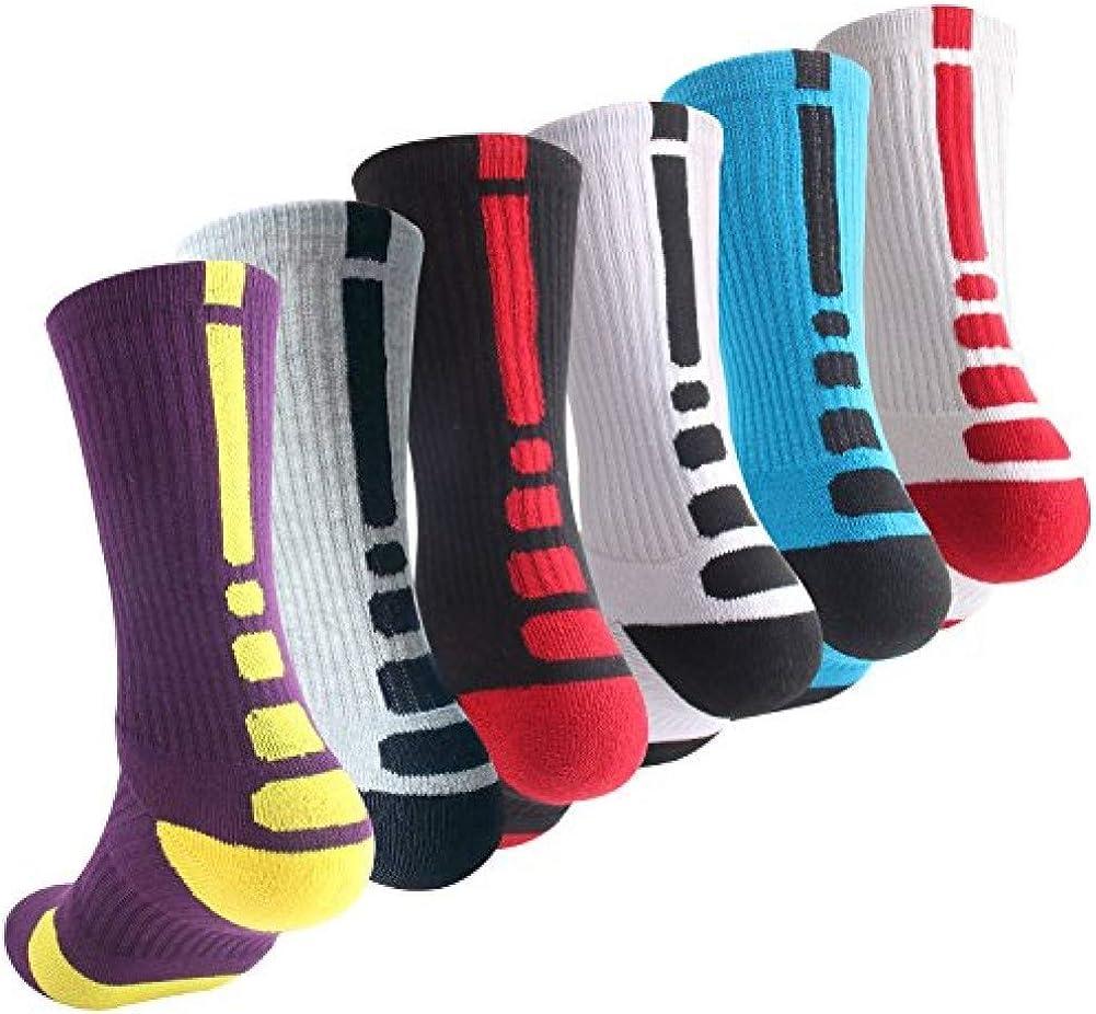 Boys Sock Basketball Soccer Hiking Ski Athletic Outdoor Sports T