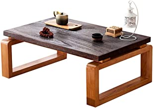 RANRANJJ Coffee Table with Low Storage Shelf Square Chinese Tea Table for Living Room Furniture (Table) (Size : 70 * 45 * ...