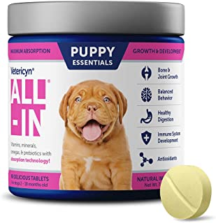 Vetericyn All-In Supplement for Puppy, 90 Tablets