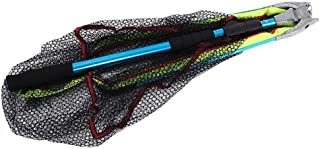 comprar comparacion Zerone Red de Aterrizaje de la Pesca de la aleación de Aluminio con la manija telescópica del aro Plegable del triángulo, ...