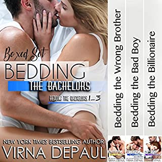 Bedding the Bachelors, Boxed Set: Books 1-3 audiobook cover art
