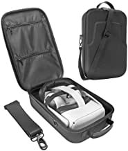 Esimen Fashion Travel Case for Oculus Quest 2 or Quest VR Gaming Headset Elite Strap and Controllers Accessories Carrying ...