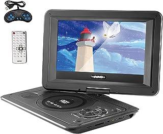 """13,9 inch draagbare dvd-speler met 10""""groot draaibaar scherm, auto-dvd-speler voor thuisgebruik VCD CD-game TV-speler USB-..."""
