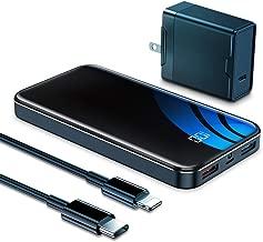 insignia portable power charger 15600mah black ns mb15600