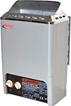 TURKU 2000W 110V 90 Cu.Ft. Mini Type Electric Sauna Heater Stove Built-in Control for Traditional Sauna