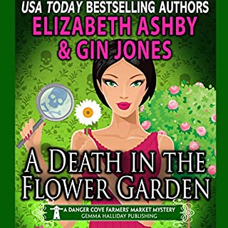 A Death in the Flower Garden audiobook cover art