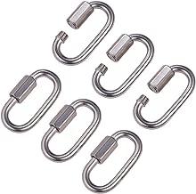 10x Kettenglied Notglied Kettenschnellverschluss Kettenverbinder 7 mm MCPL6320