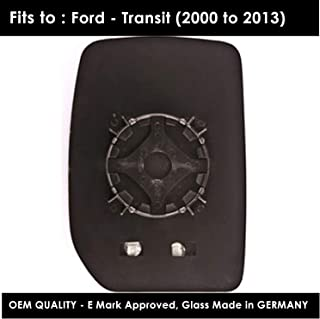 Espejo para retrovisor proximal izquierdo con cristal calefactable para Ford Transit Mk7 2006-2014